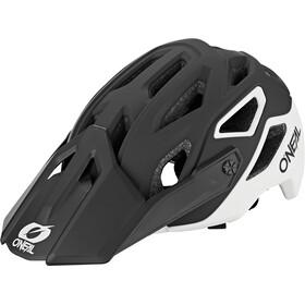O'Neal Pike 2.0 Helm Solid schwarz/weiß